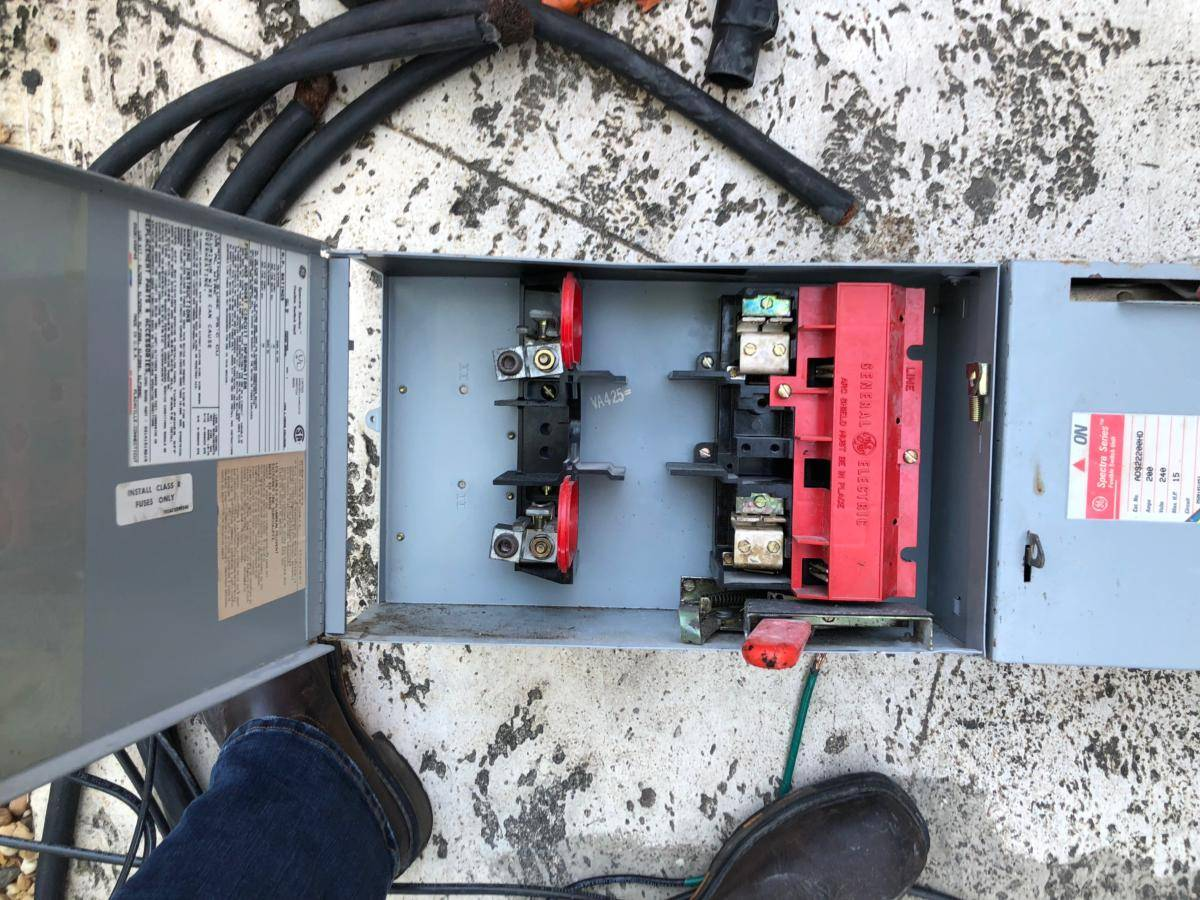 600 Amp Main Distribution Panel Replacement 1 Of 3